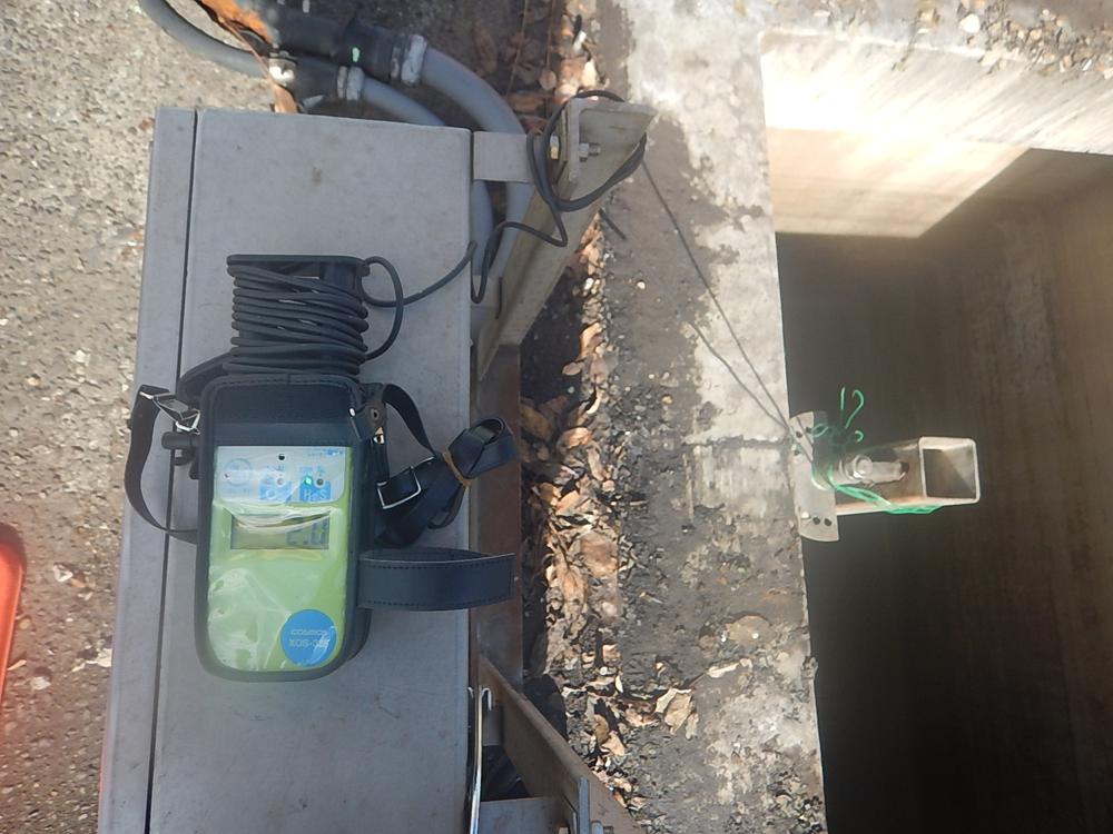 安全管理 酸素濃度測定